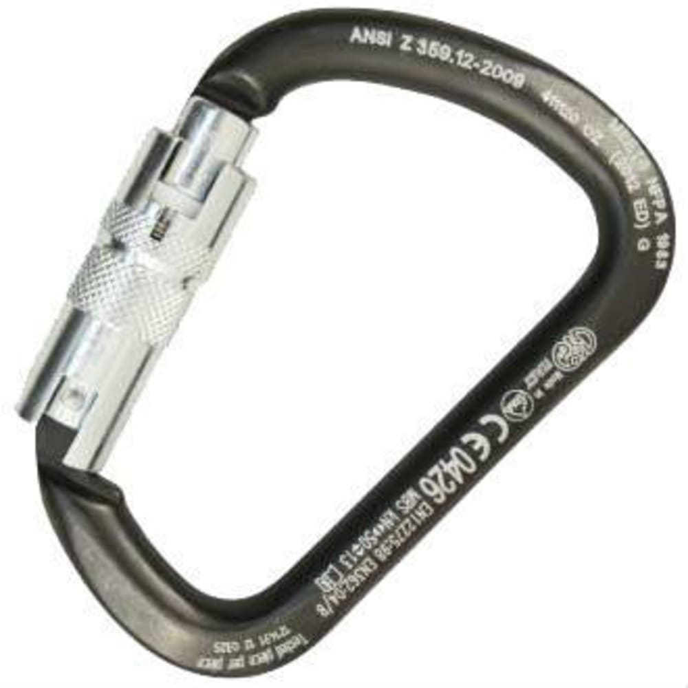 KONG X Large Steel Auto lock ANSI Carabiner - NONE