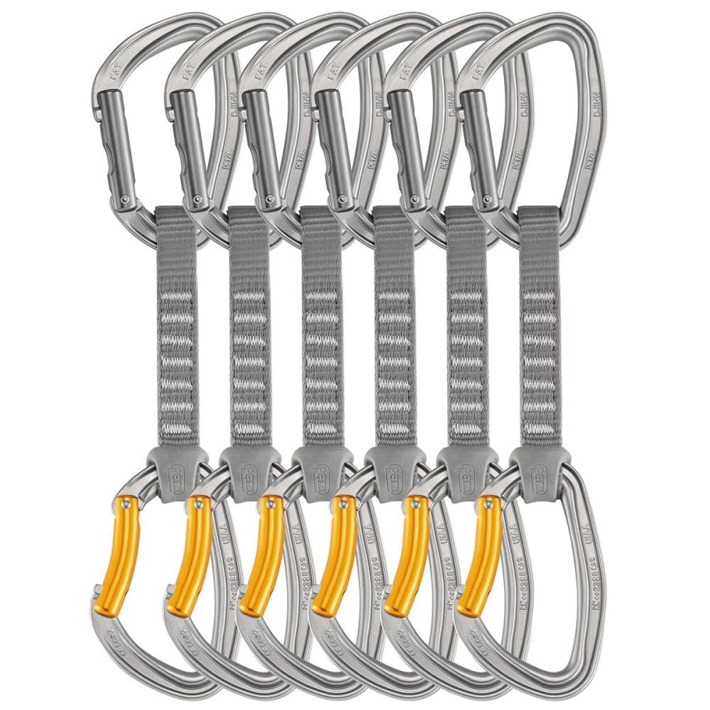 PETZL Djinn Axess Quickdraw, 12 cm 6-Pack - GREY