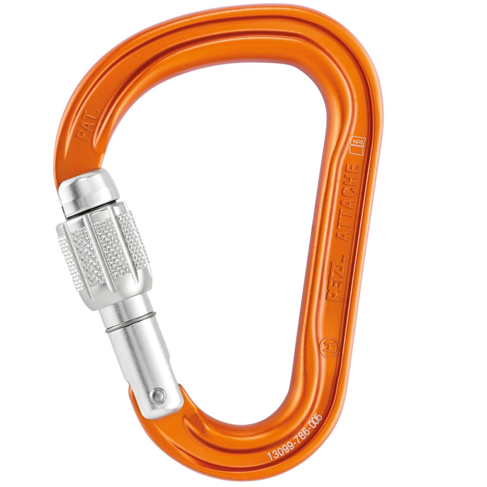 PETZL Attache Carabiner - ORANGE