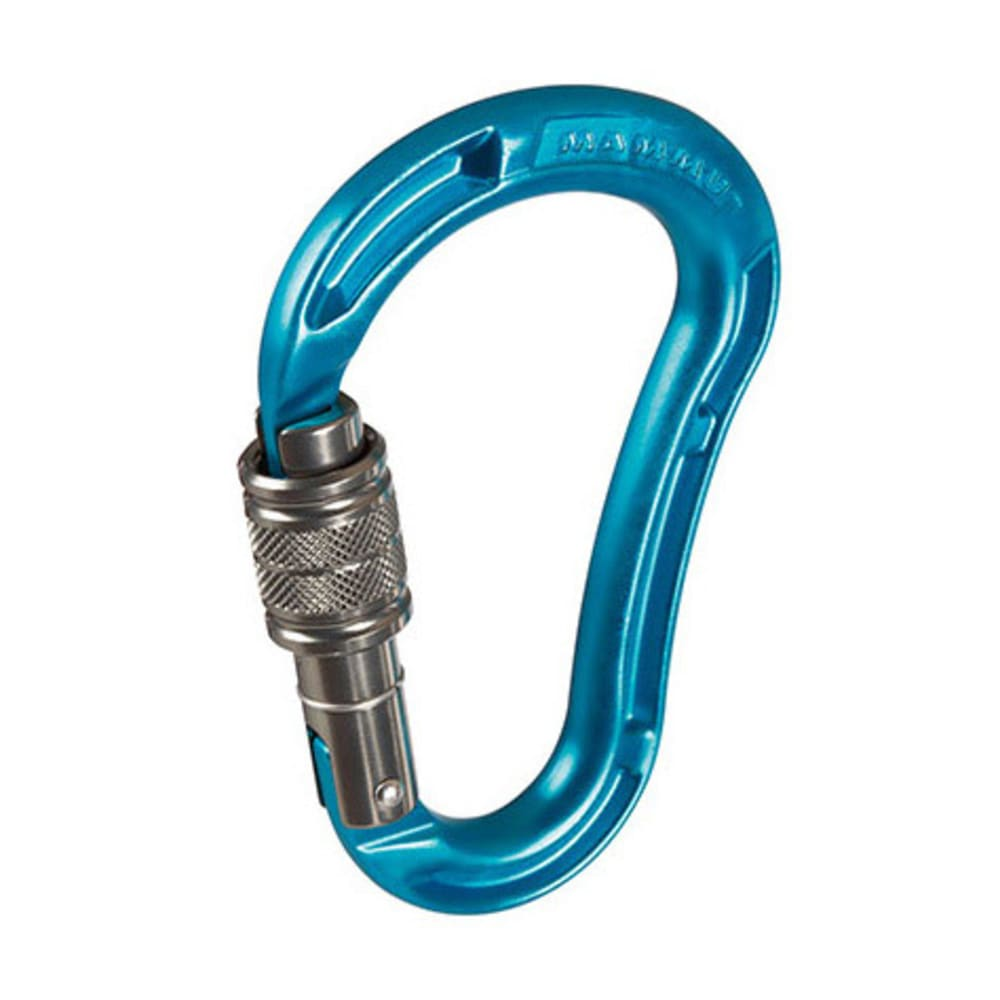 MAMMUT Bionic Mythos Screw Gate Carabiner - AQUA
