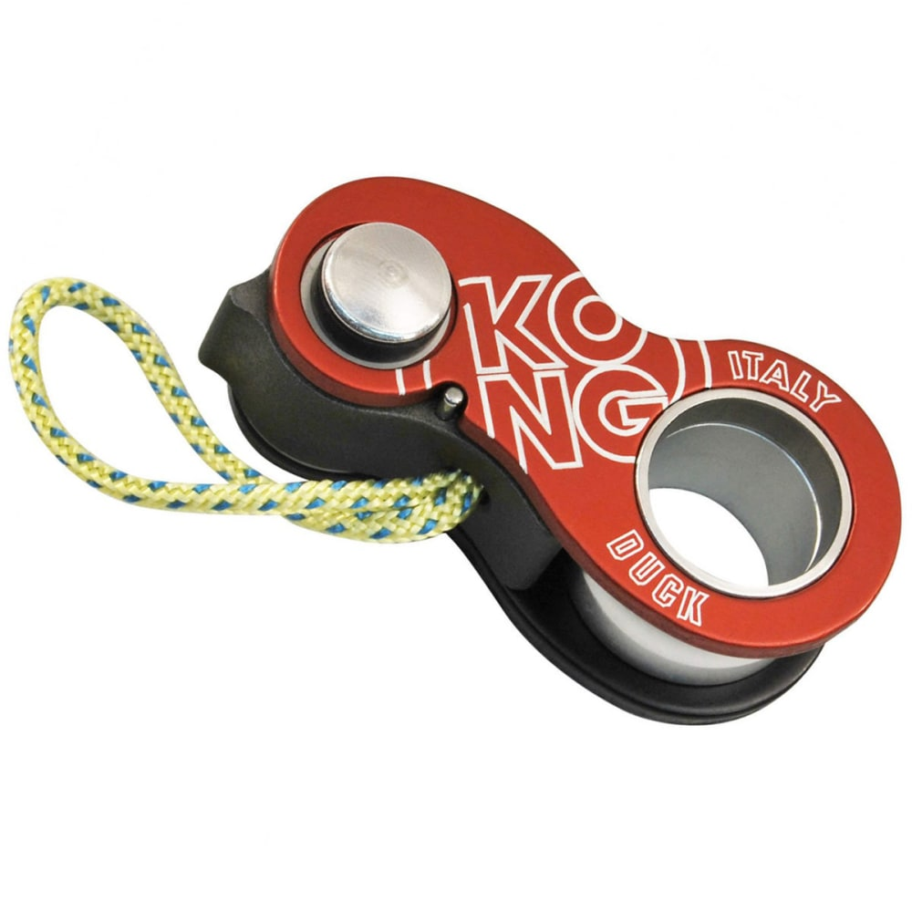 KONG USA Duck Ascender - BLACK/RED