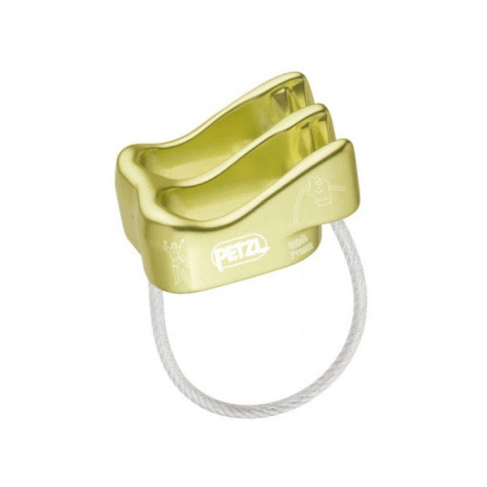 PETZL Verso Belay/Rappel Device - LIME