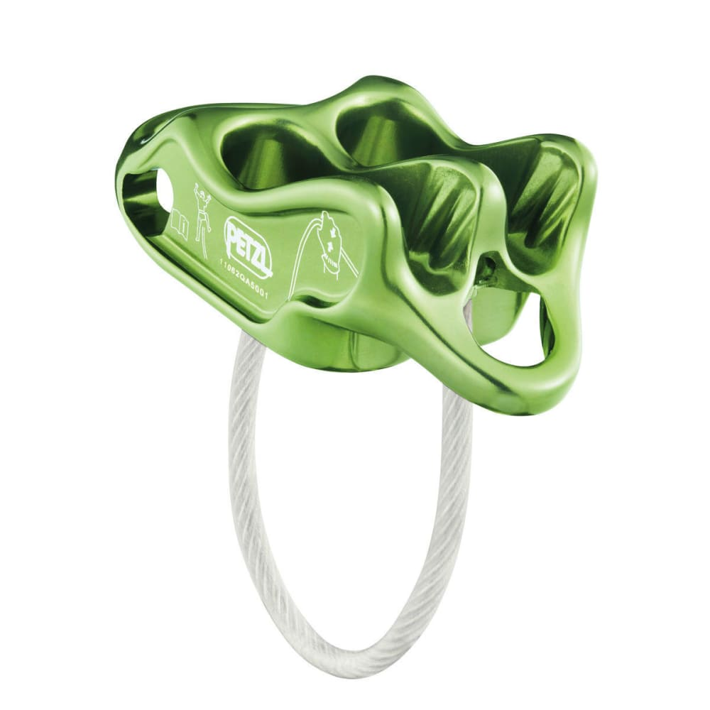 PETZL Reverso 4 Belay Device - APPLE