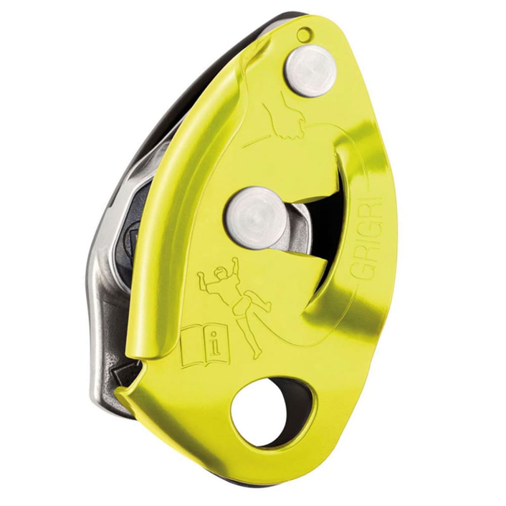 PETZL GriGri 2 Belay Device, Yellow - YELLOW