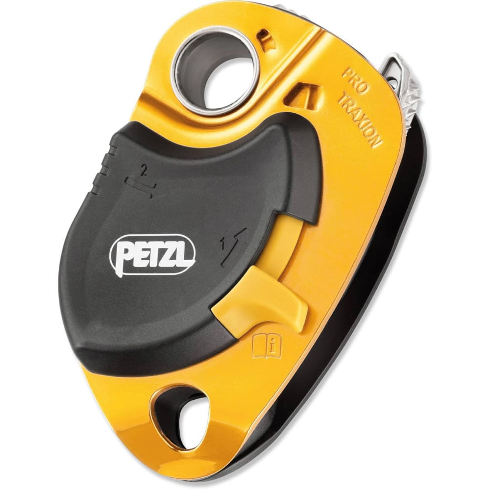 PETZL Pro Traxion Pulley - YELLOW
