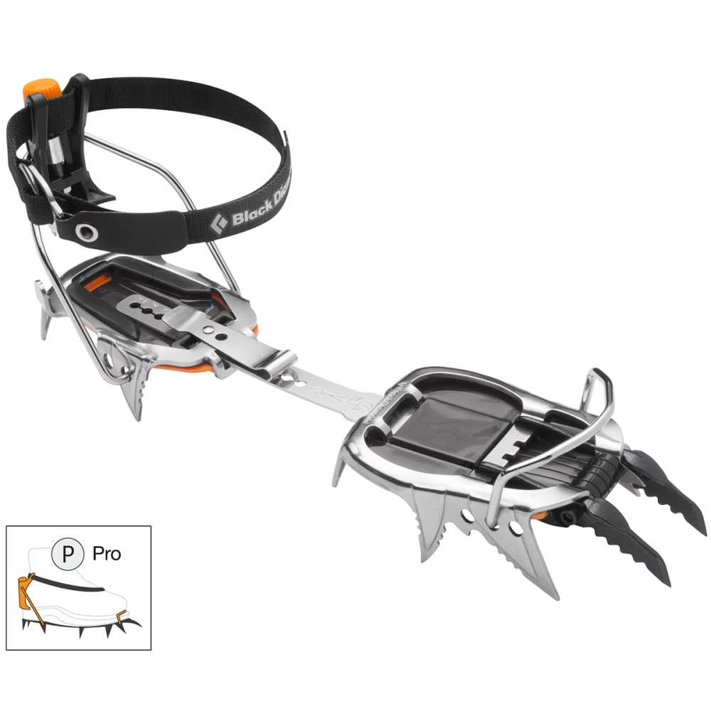 BLACK DIAMOND Cyborg Pro Crampons - STAINLESS STEEL