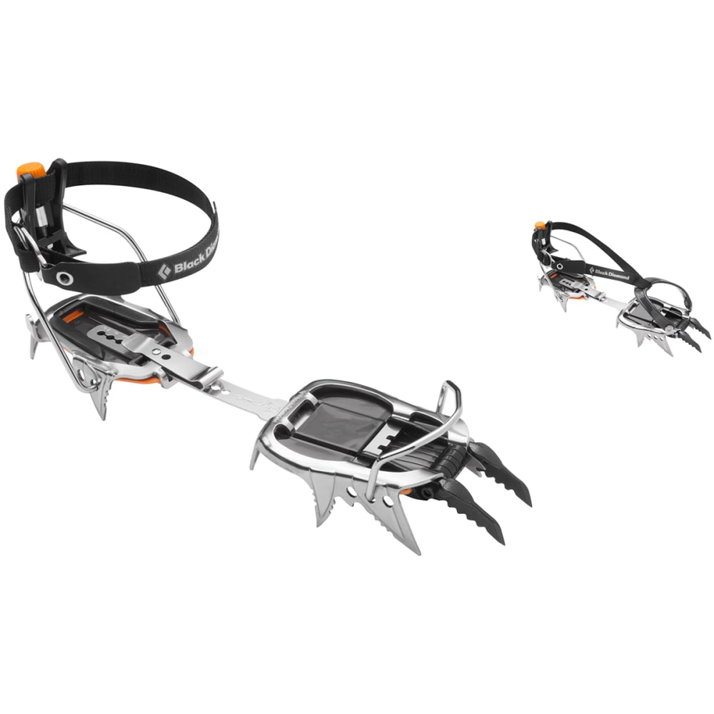 BLACK DIAMOND Cyborg Pro Crampons - STAINLESS STEEL