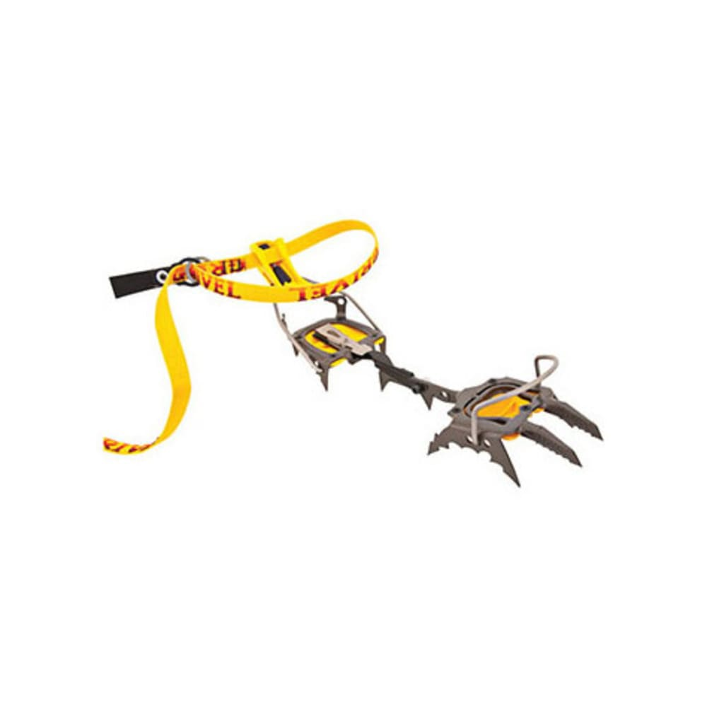 GRIVEL G22 Cramp-O-Matic Crampons - YELLOW