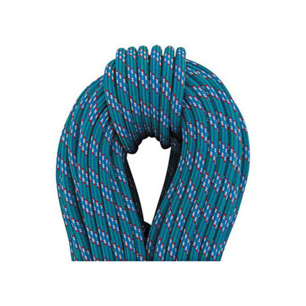 BEAL Ice Line 8.1 mm X 50 m UNICORE Golden Dry Climbing Rope - BLUE