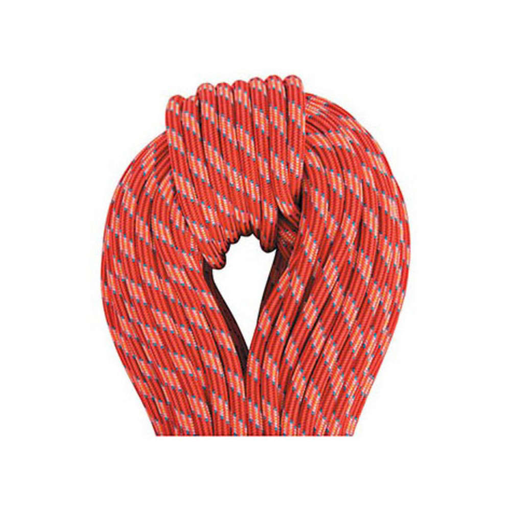 BEAL Ice Line 8.1 mm X 50 m UNICORE Golden Dry Climbing Rope - ORANGE