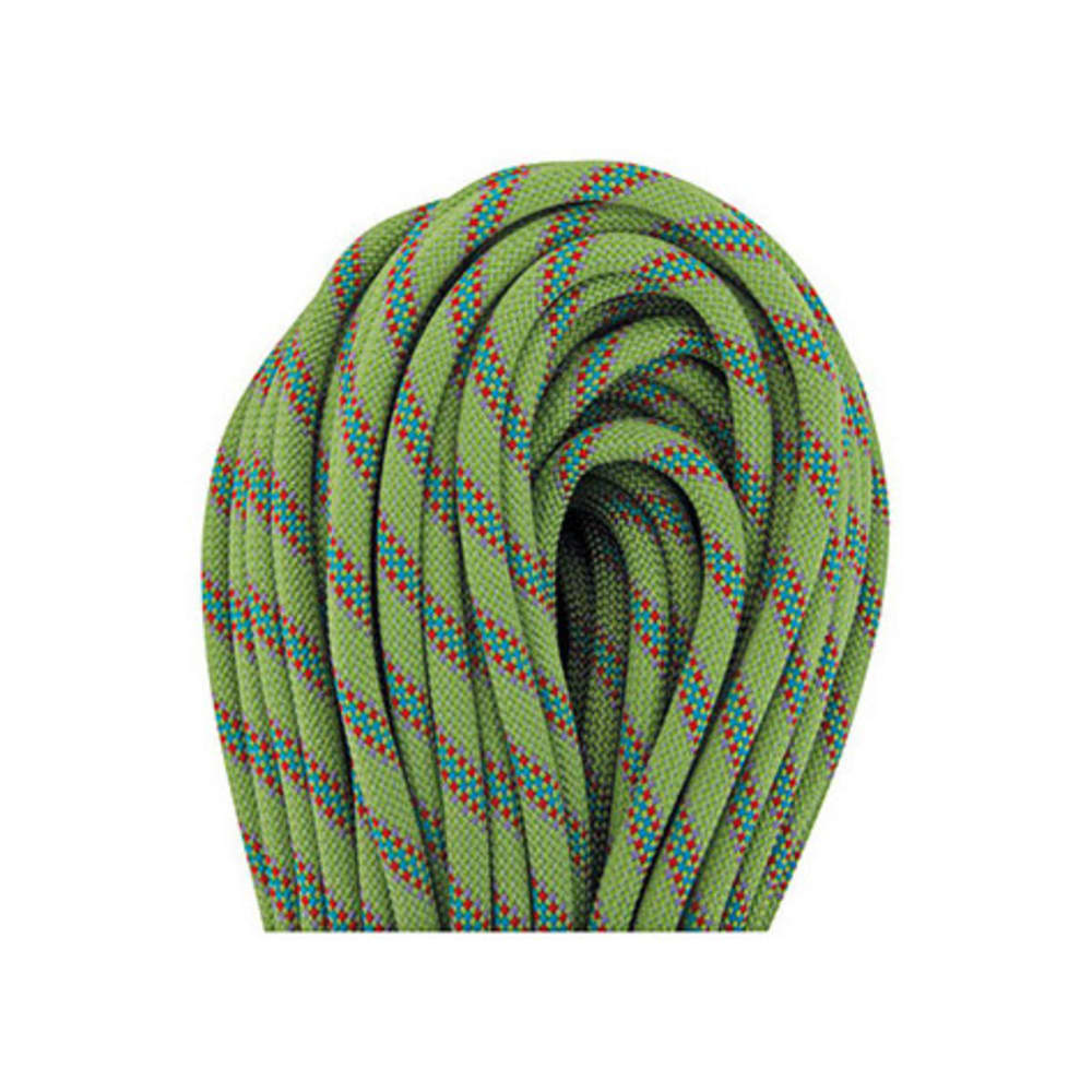 BEAL Tiger 10 mm X 50 m UNICORE Dry Cover Climbing Rope - GREEN