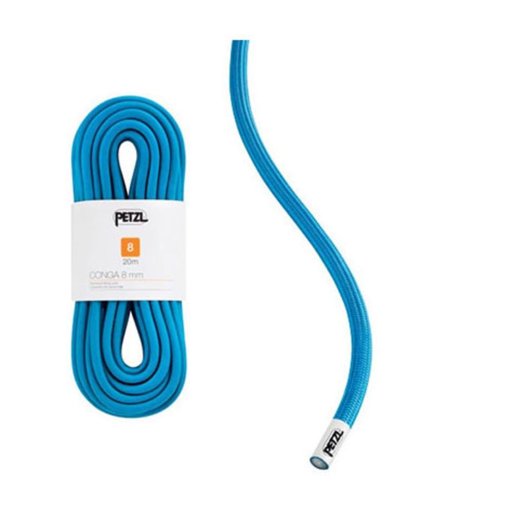 PETZL Conga 8 mm x 30 m Climbing Cord - BLUE