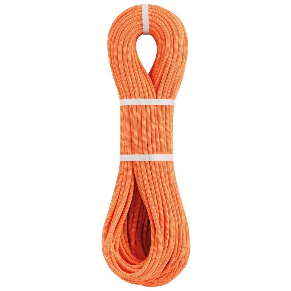 PETZL Paso 7.7 mm x 70 m Dry Climbing Rope, Orange - ORANGE