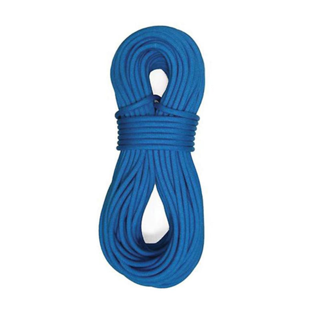 STERLING ROPE Fusion Nano IX 9.0 mm x 60 m Dry Climbing Rope, Blue - BLUE