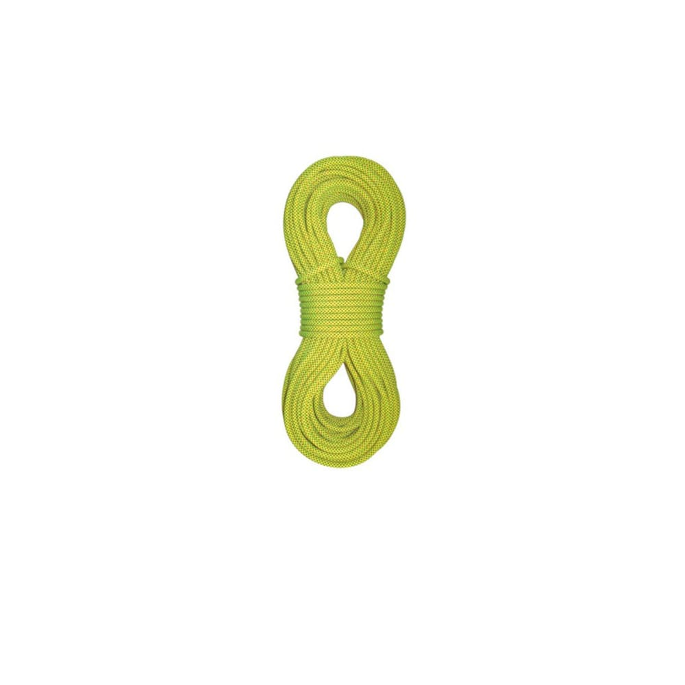 STERLING ROPE Fusion Photon 7.8 mm x 60 m Dry Climbing Rope, Yellow - YELLOW