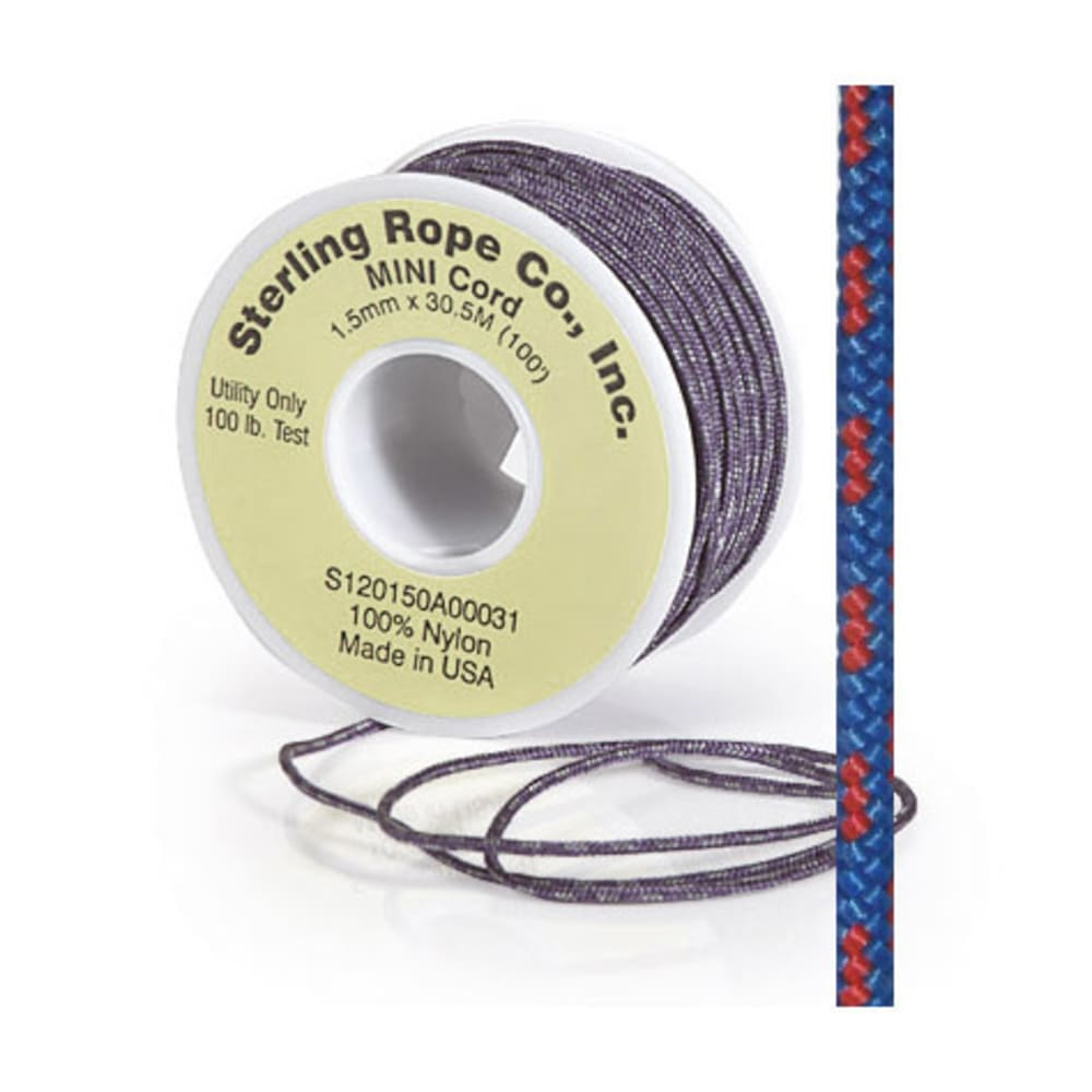 Sterling Rope 1.5mm Mini Cord