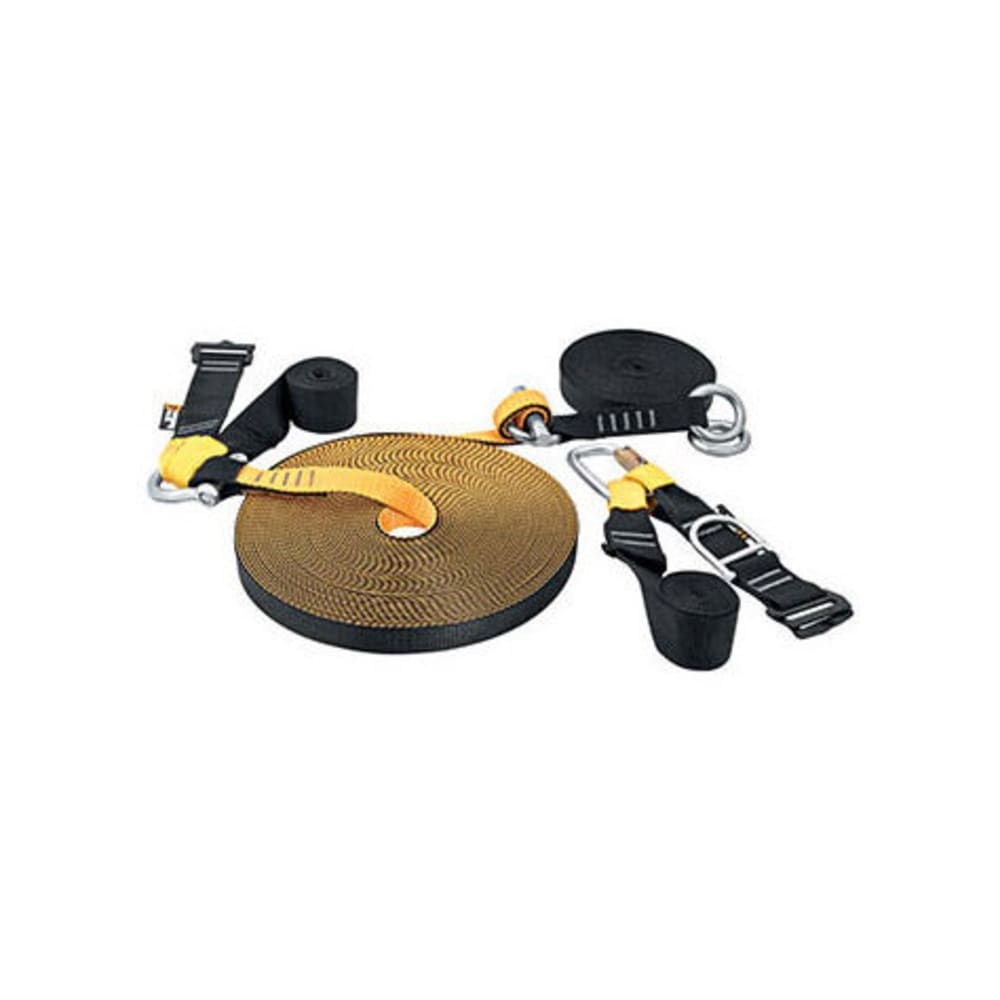 SINGING ROCK 25 m Slackline - BLACK/YELLOW