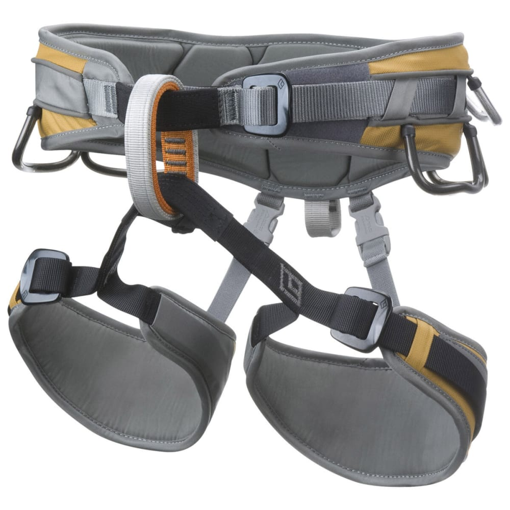 BLACK DIAMOND Big Gun Climbing Harness - GOLD