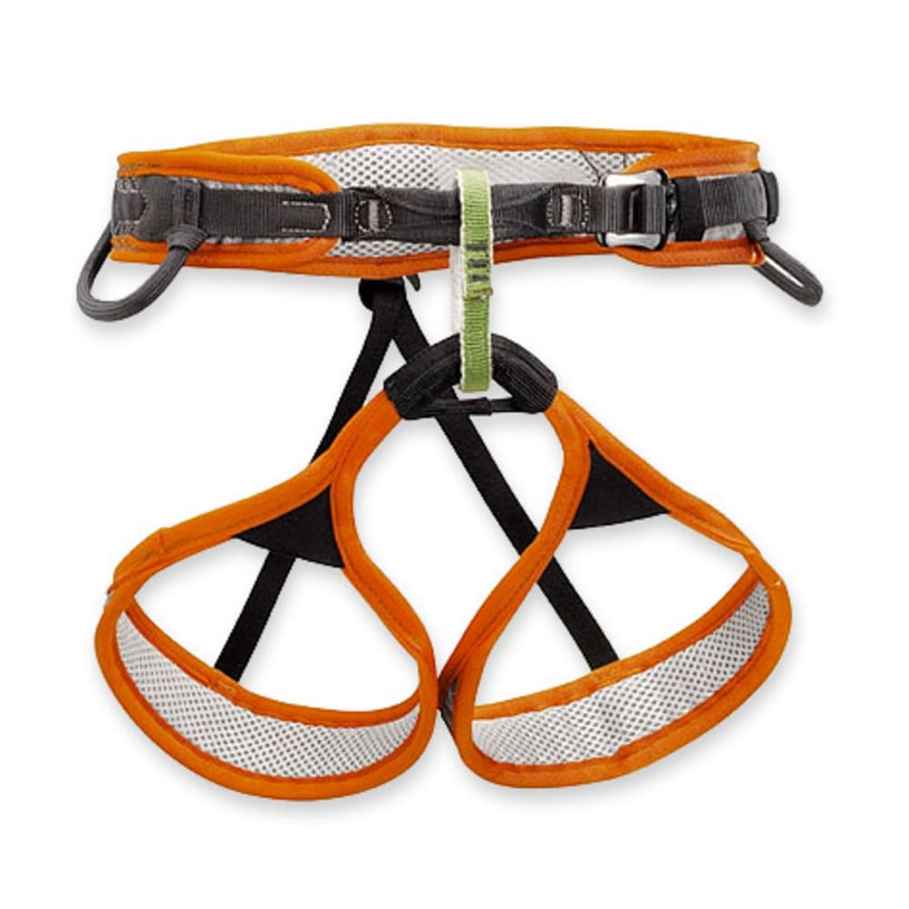 PETZL Hirundos Climbing Harness - ORANGE