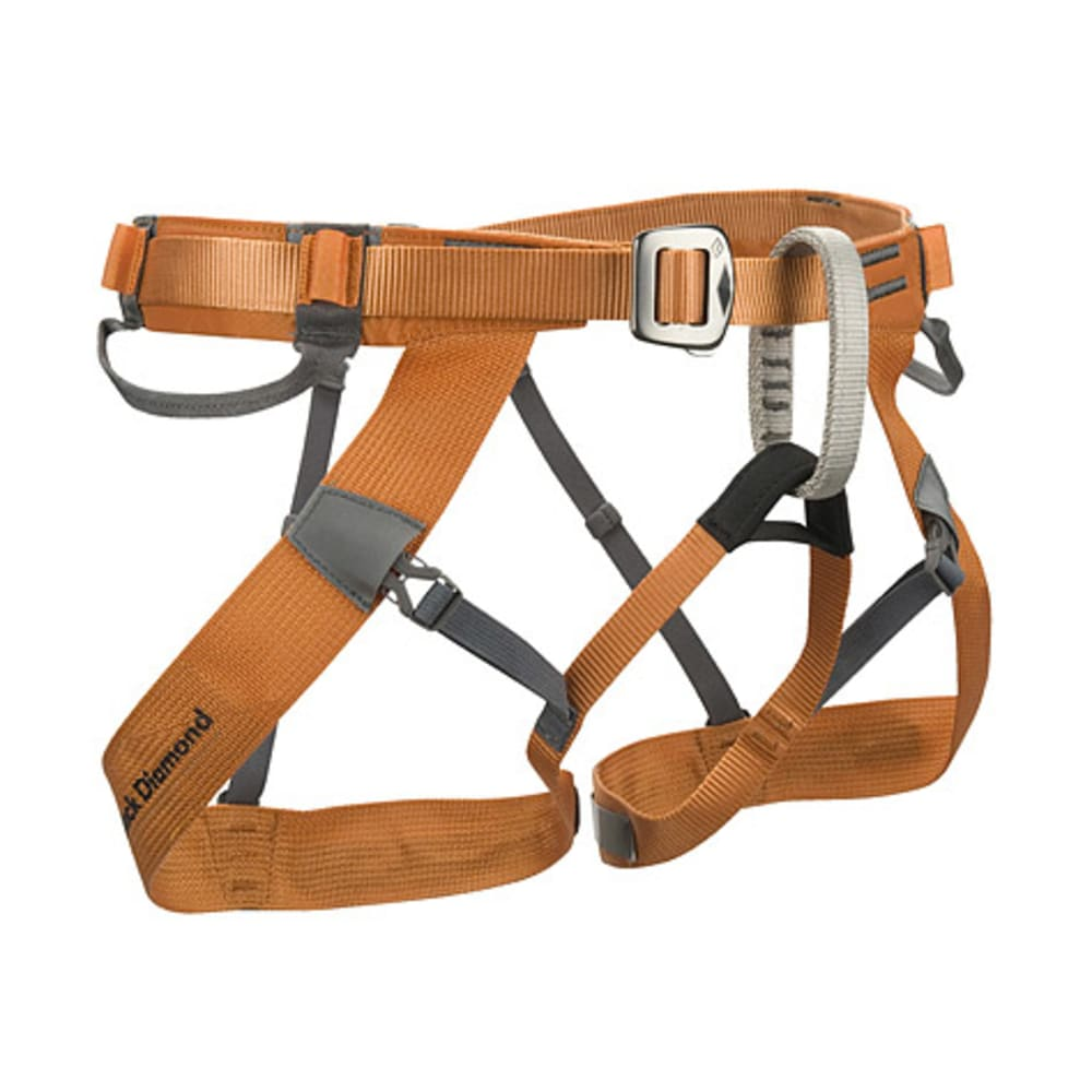 BLACK DIAMOND Couloir Climbing Harness - BURNT ORANGE