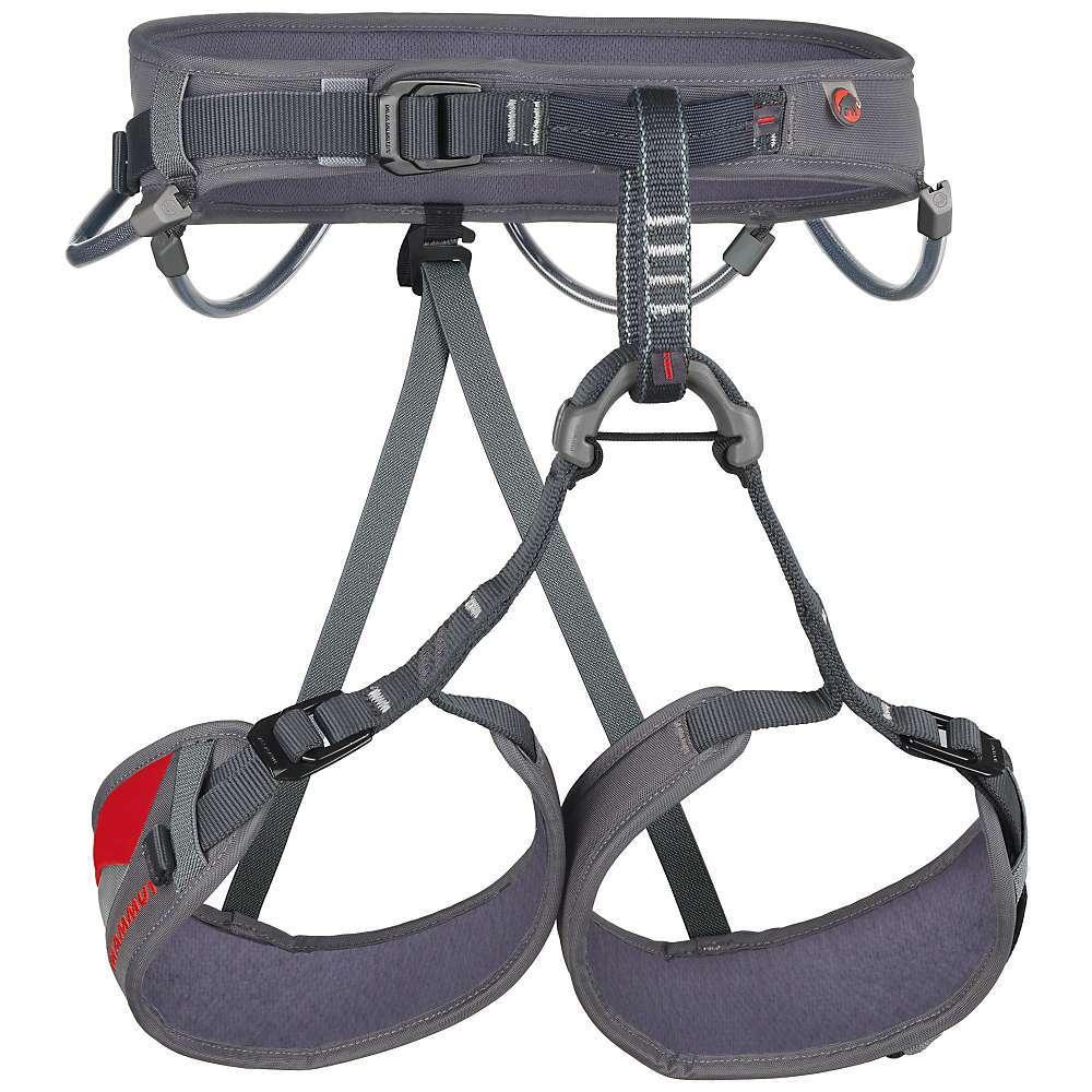 MAMMUT Women's Ophir 3 Slide Climbing Harness - CEMENT