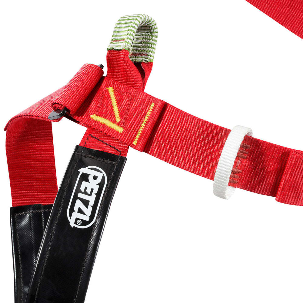PETZL Superavanti Caving Harness - RED/BLACK