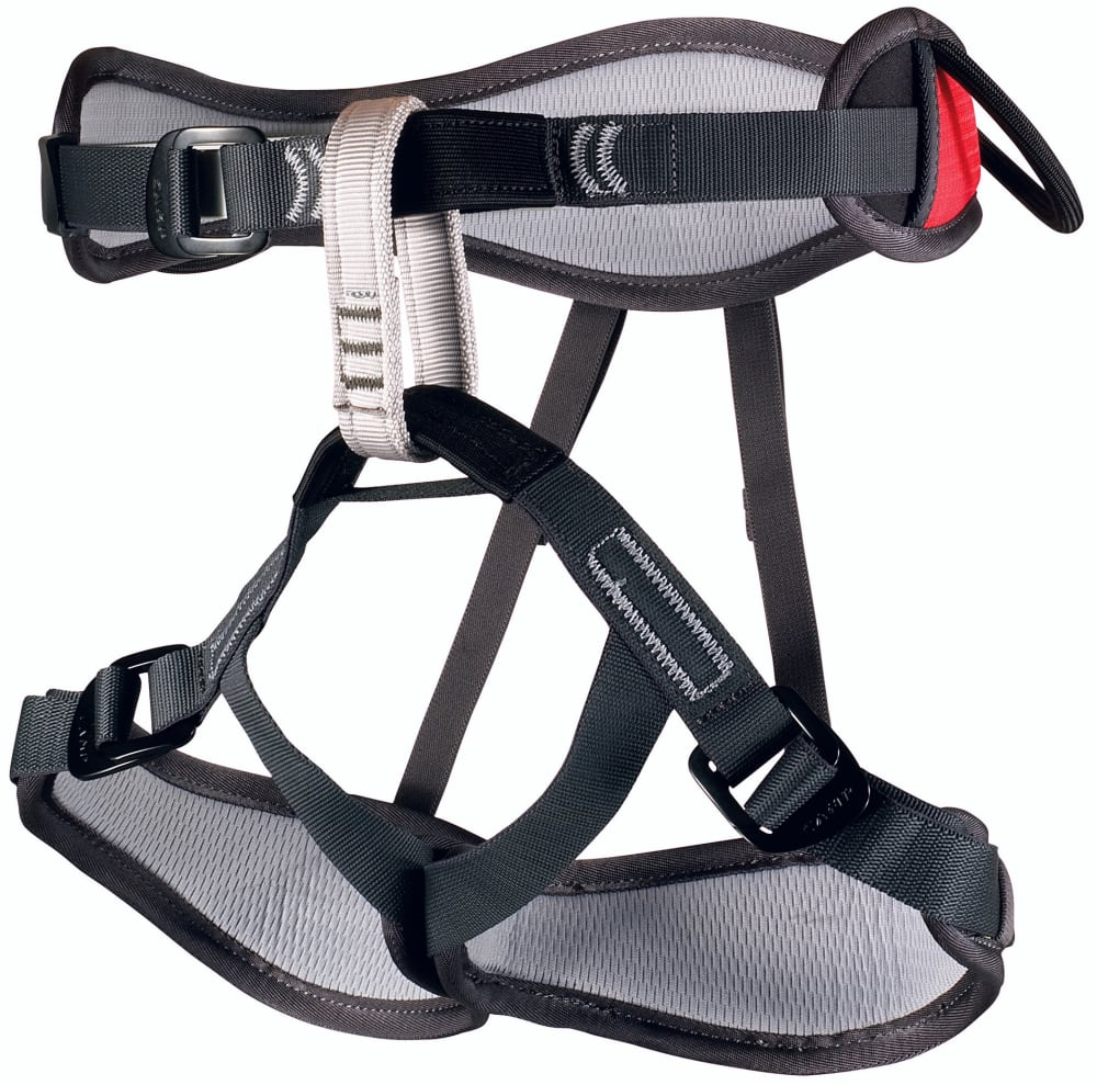 CAMP USA Harlequin Climbing Harness - RED/GRN