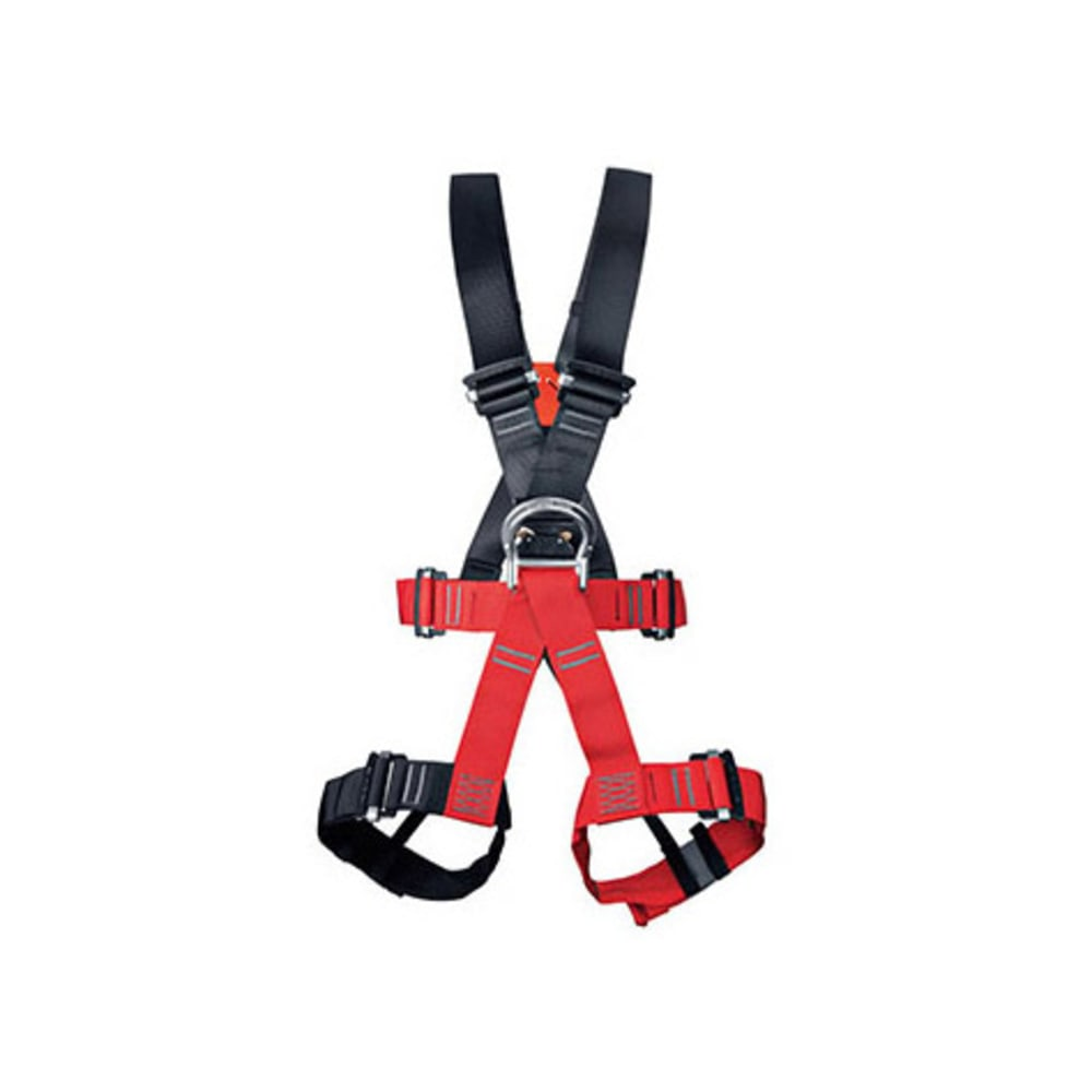 SINGING ROCK Tarzan Light Harness - RED/BLACK