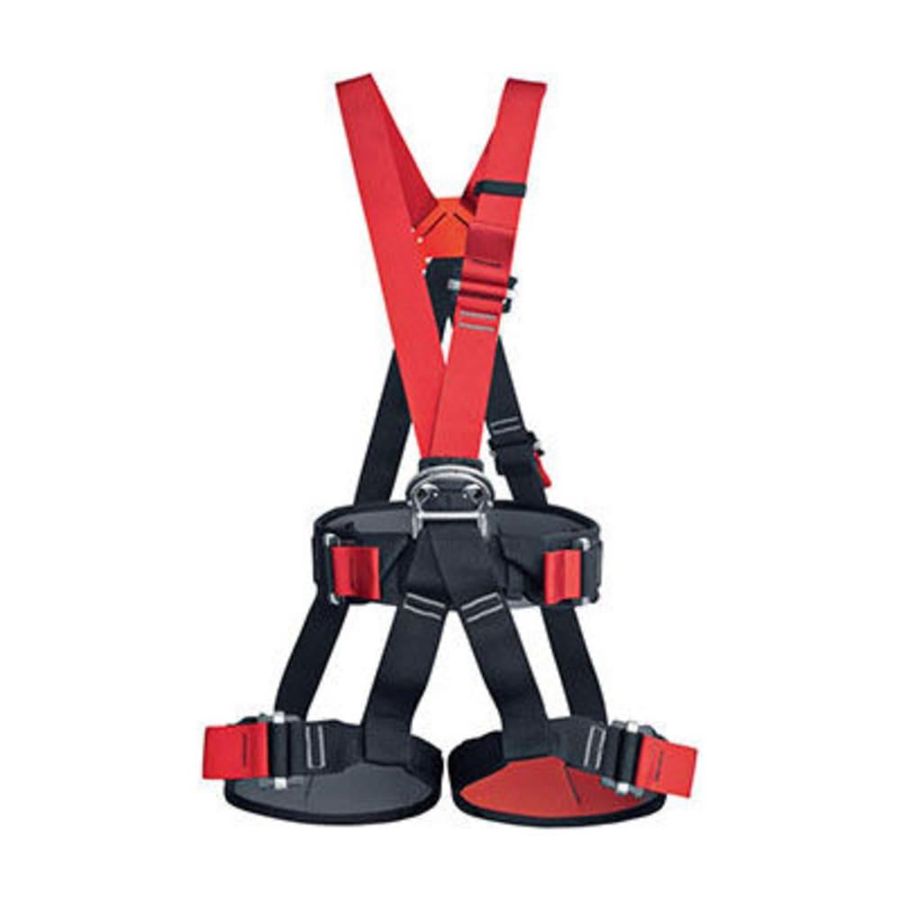 LMS Tarzan Climbing Harness - BLACK/RED