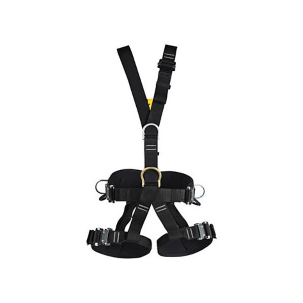 SINGING ROCK Technic Steel Speed NFPA Harness - BLACK