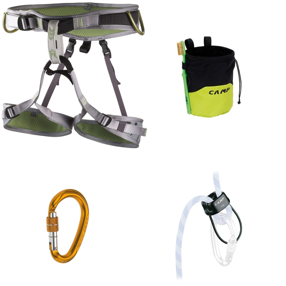 CAMP Flint Climbing Kit - GREEN