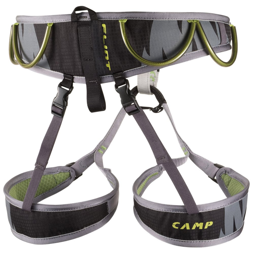CAMP Flint Climbing Harness - GREEN