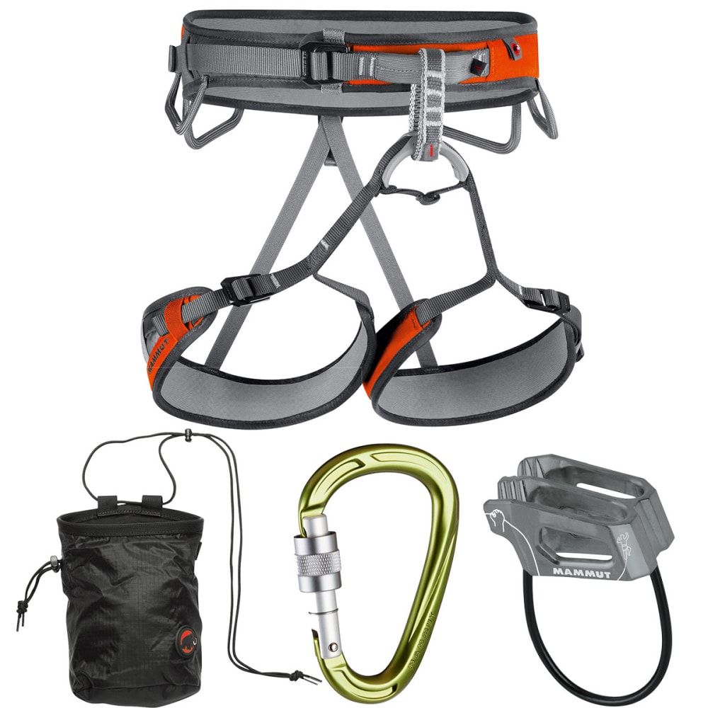 MAMMUT Ophir 3 Slide Climbing Harness Crag Bag