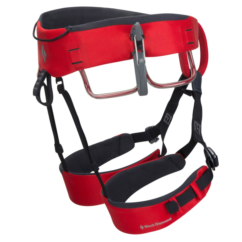 BLACK DIAMOND Xenos Climbing Harness - FIRE RED