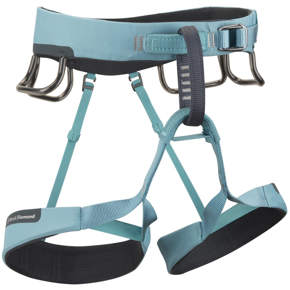 BLACK DIAMOND Women's Aura Climbing Harness - BLUE