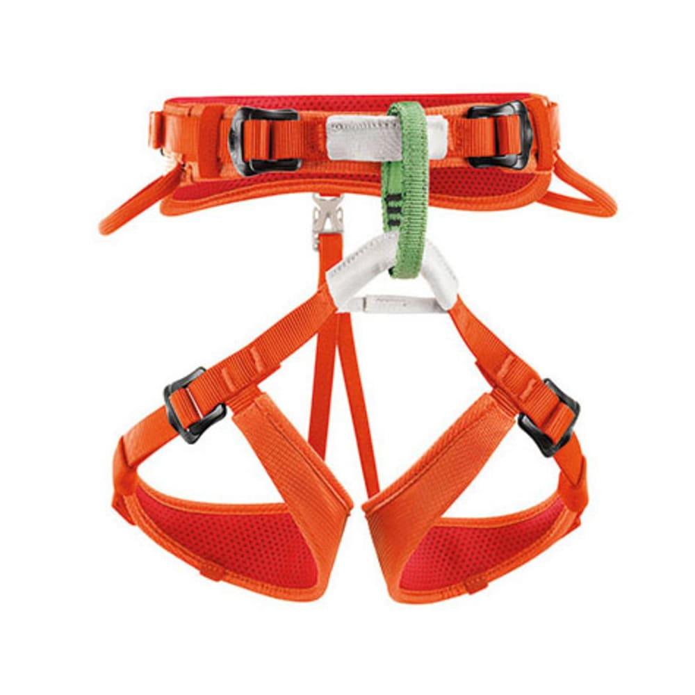PETZL Macchu Kids' Climbing Harness, Coral - CORAL