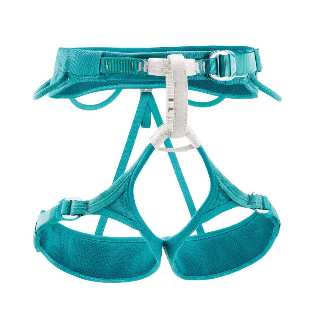 PETZL Women's Luna Climbing Harness - TURQUOISE