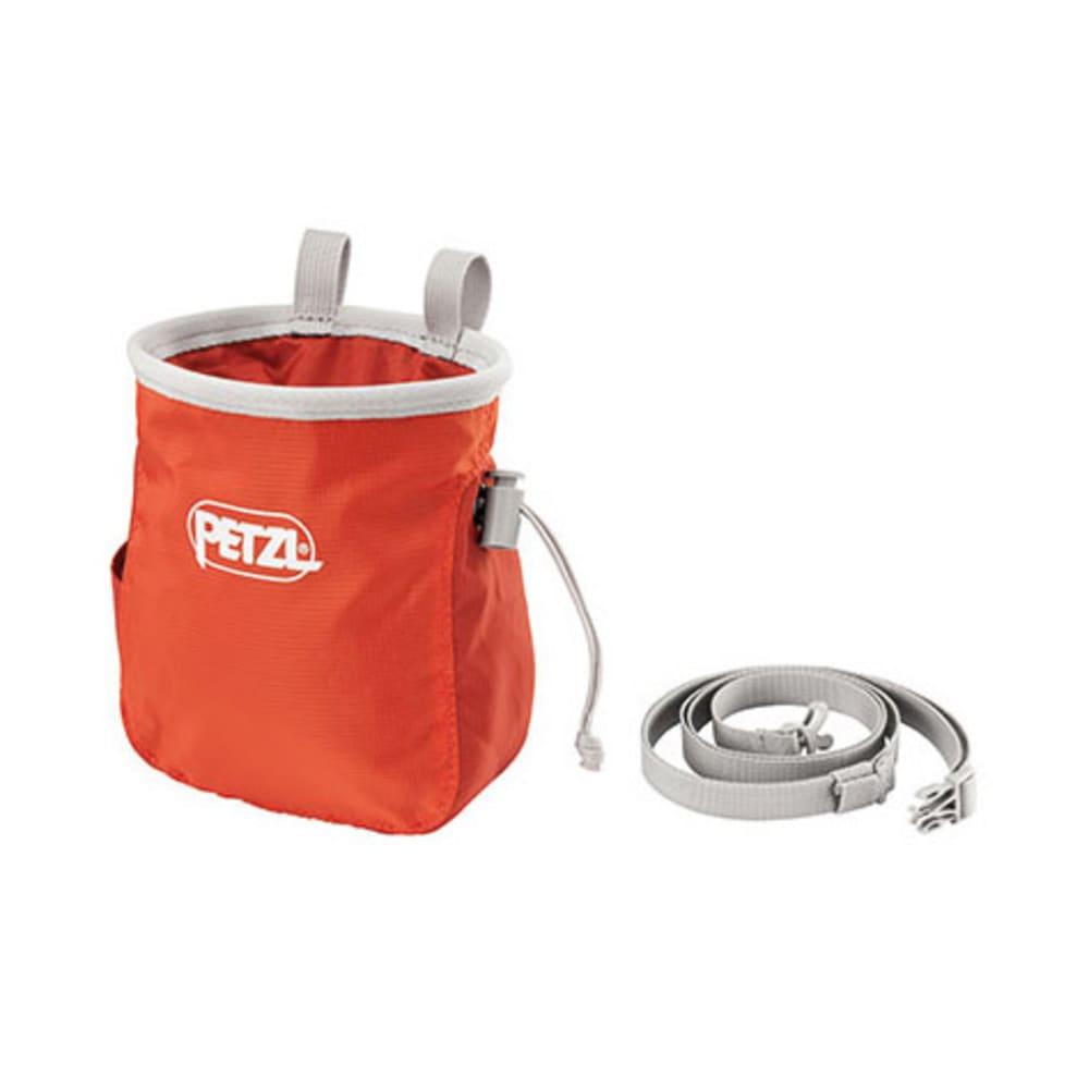 PETZL Saka Chalk Bag, Coral - CORAL