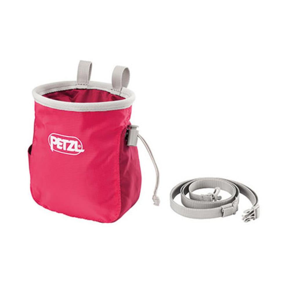 PETZL Saka Chalk Bag, Raspberry - RASPBERRY
