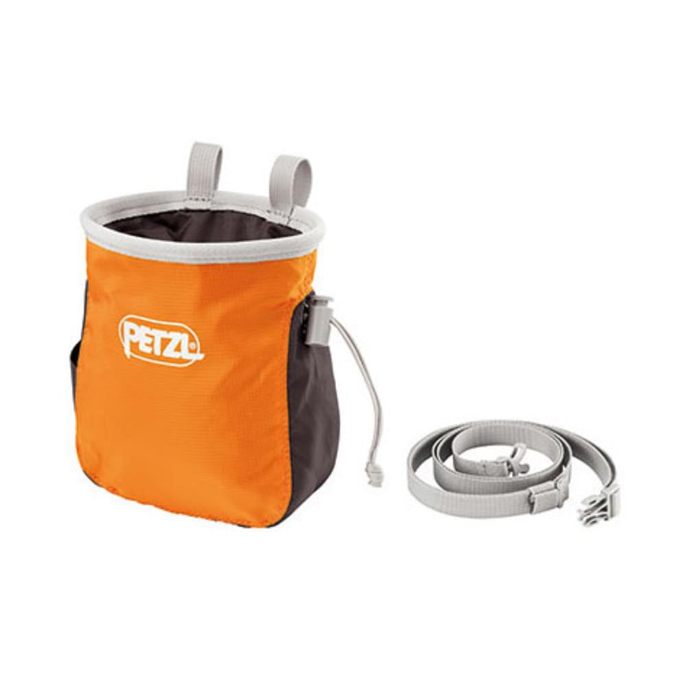 PETZL Saka Chalk Bag, Orange - ORANGE