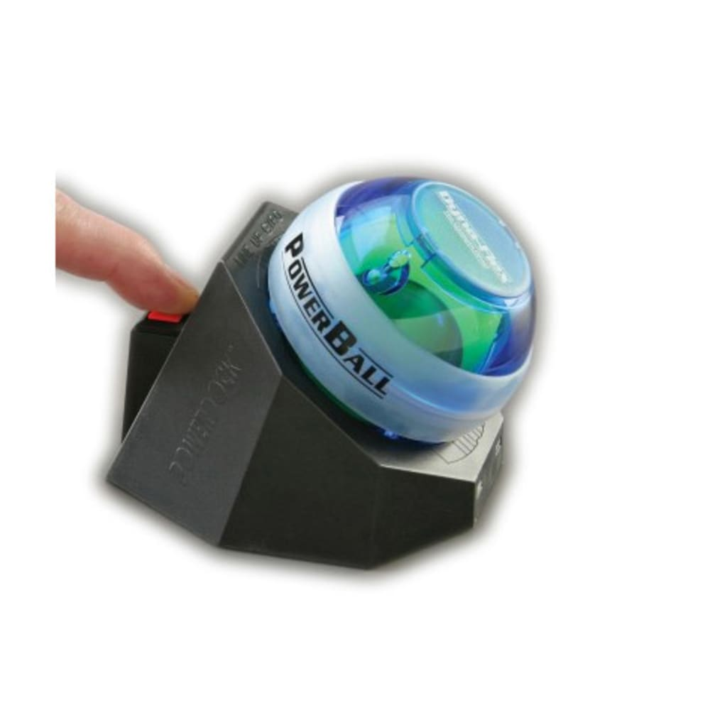 DYNAFLEX Powerball with Docking Station - BLUE