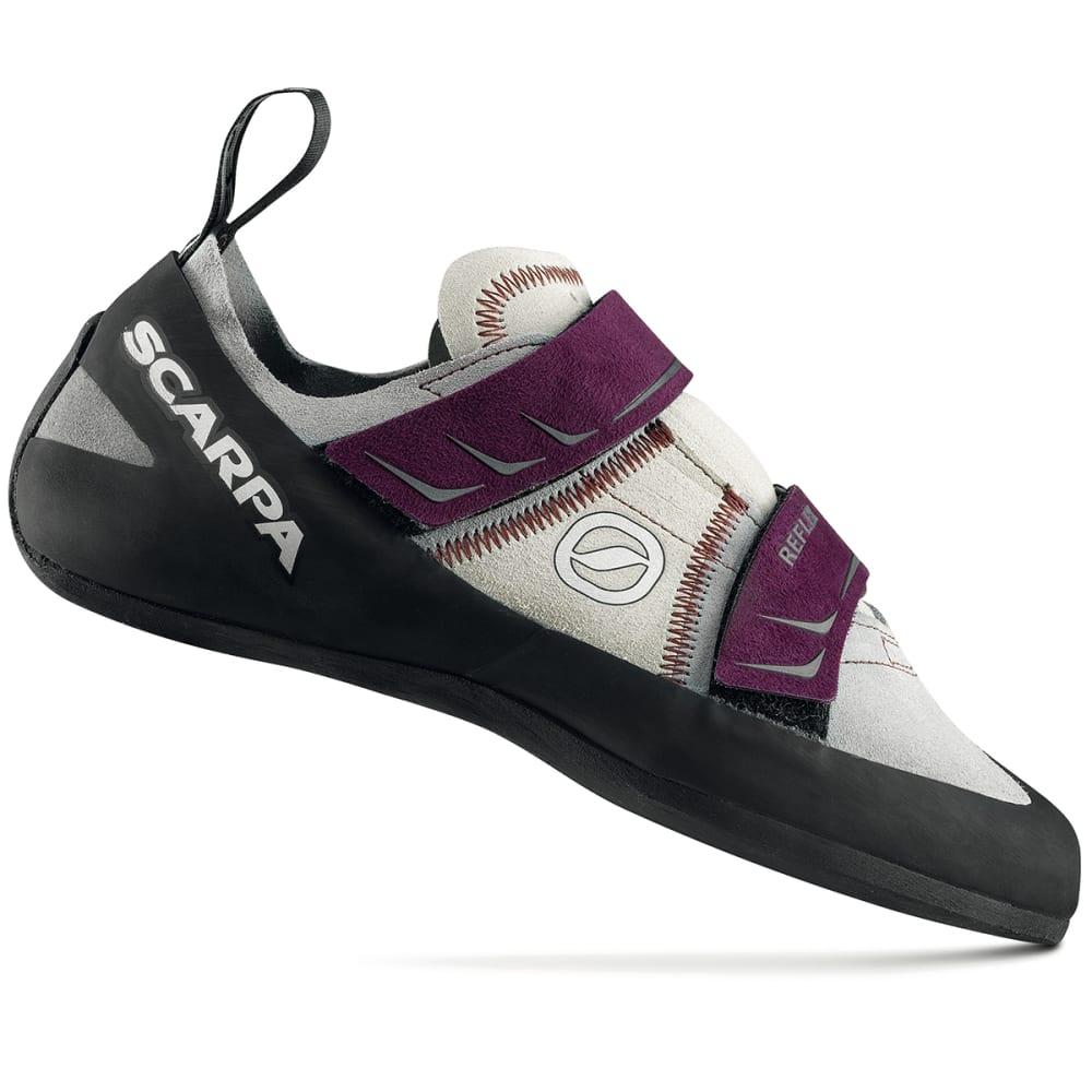 SCARPA Women's Reflex Climbing Shoes - PEWTER