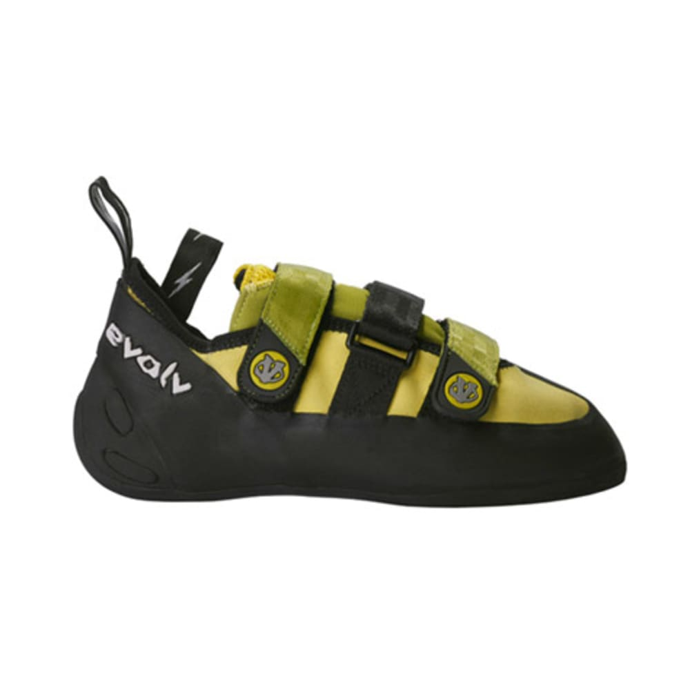 EVOLV Pontas II Climbing Shoes - YELLOW/GREEN