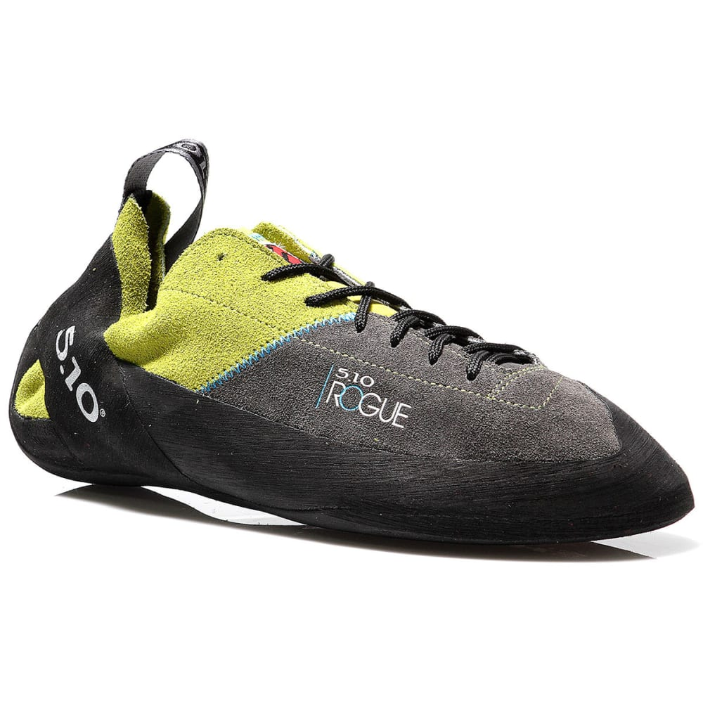 FIVE TEN Rogue Lace-Up Climbing Shoes - NEON GREEN / CHARCOA