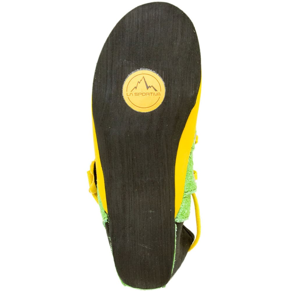 LA SPORTIVA Kids' Stickit Climbing Shoes, Green/Yellow - GREEN