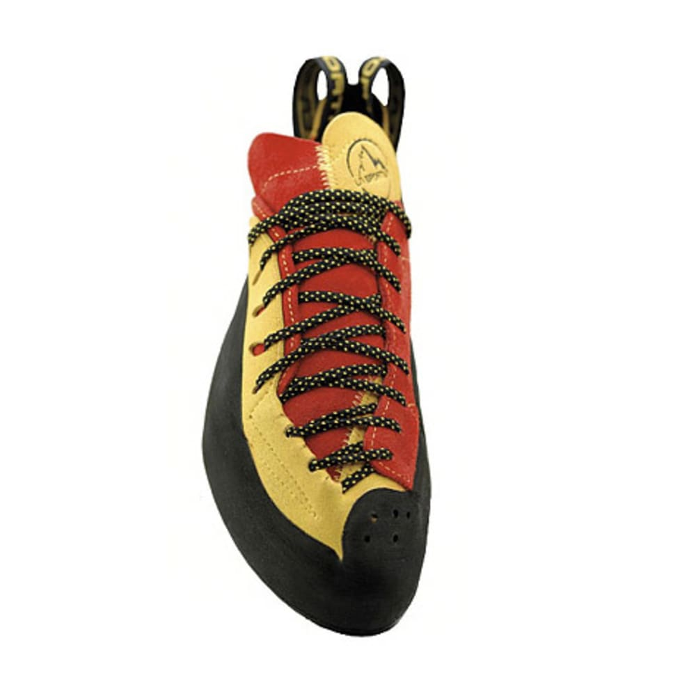 LA SPORTIVA Testarossa Climbing Shoes - RED/YELLOW