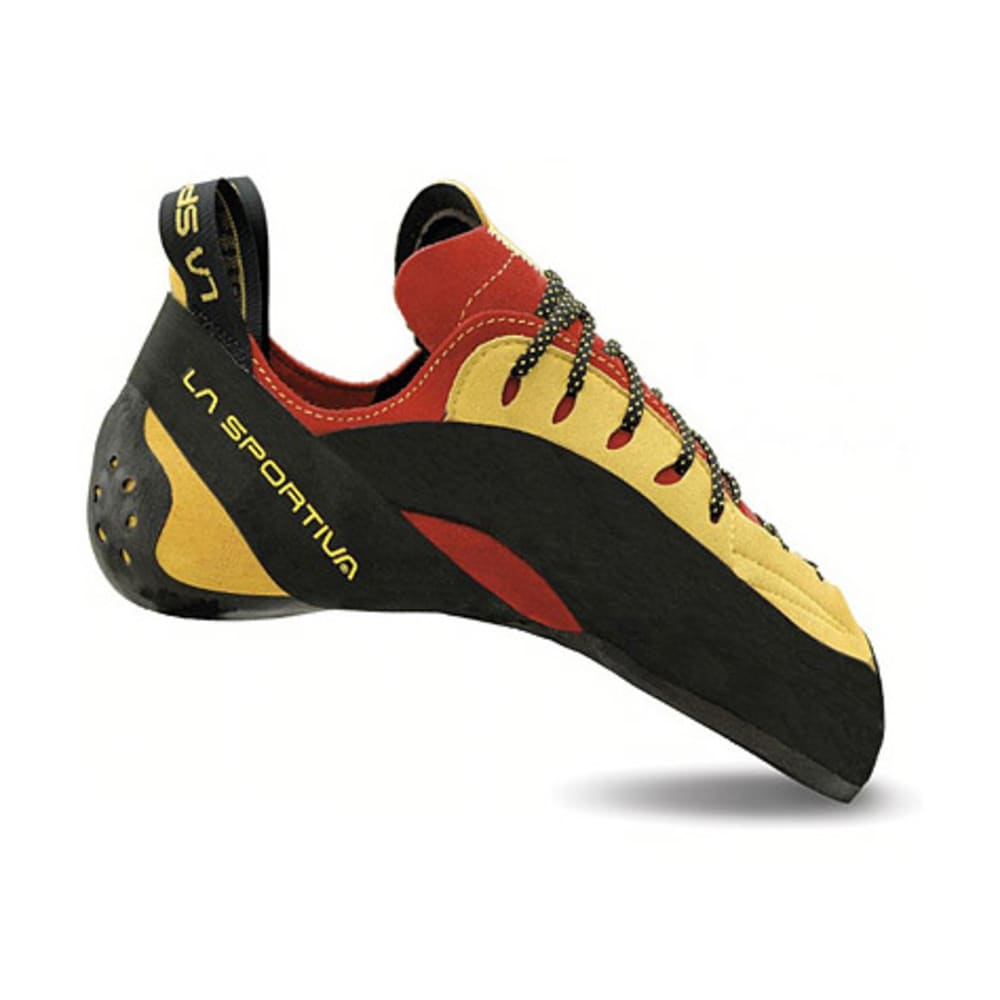 LA SPORTIVA Testarossa Climbing Shoes - RED/YELLOW