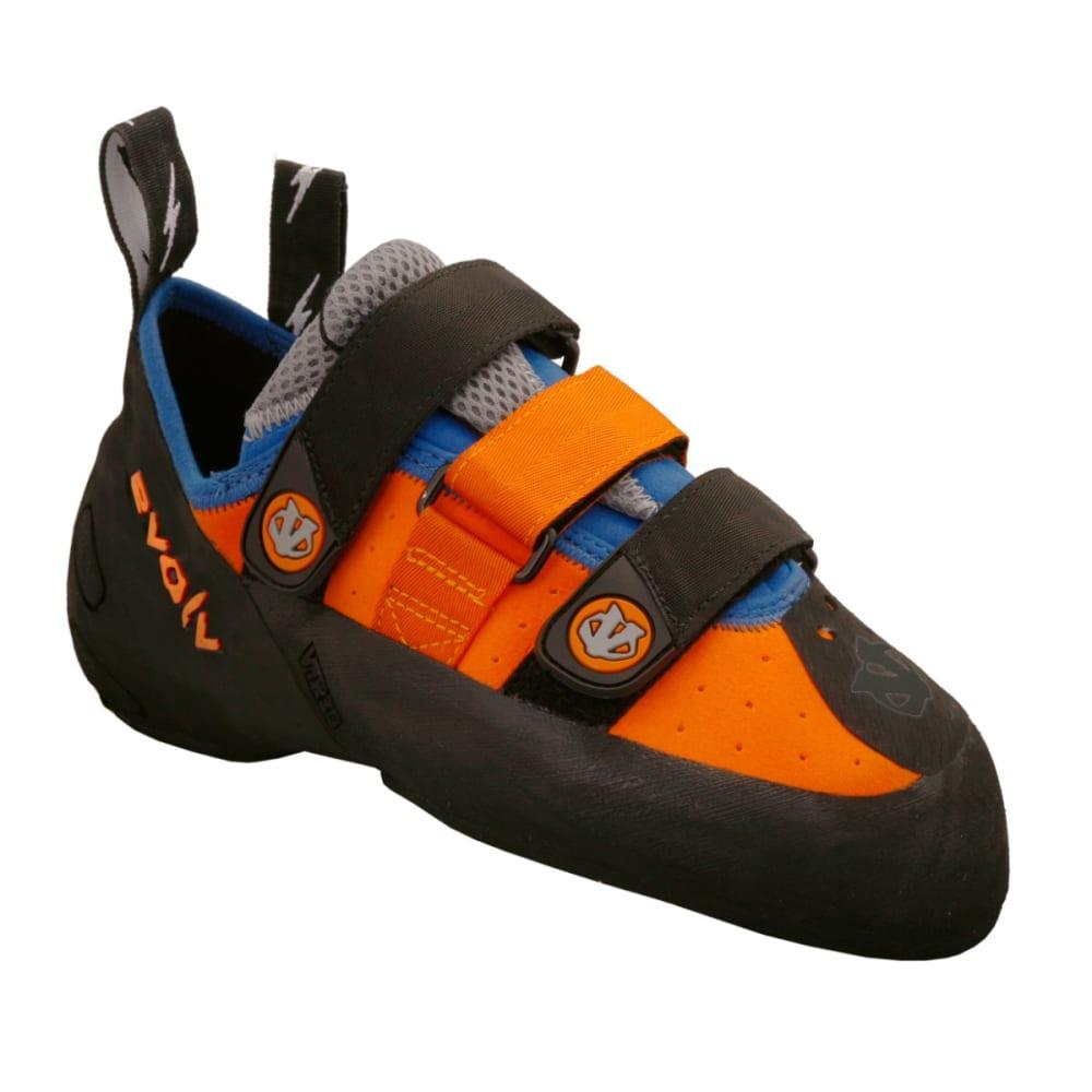 EVOLV Shaman Climbing Shoes - ORANGE/BLUE