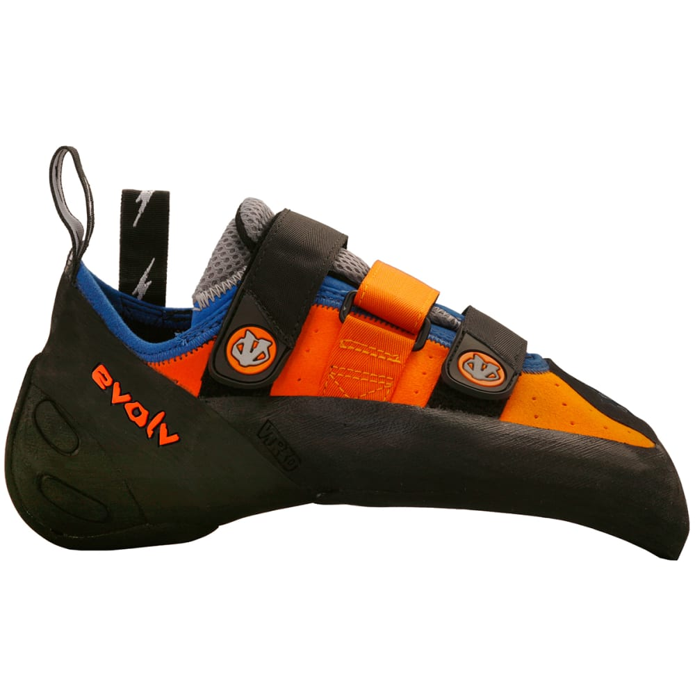 EVOLV Shaman Climbing Shoes - ORANGE/BLUE