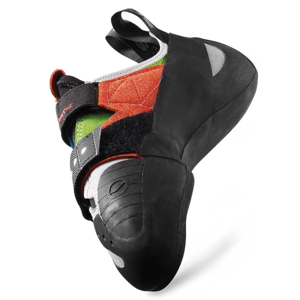 SCARPA Boostic Climbing Shoes - CYAN/SPRING